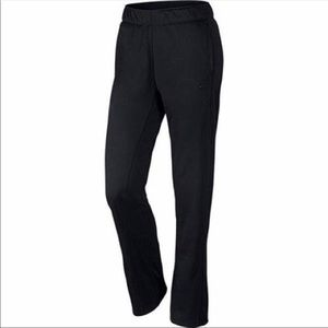 Nike Thermo-Fit Black Sweatpants Size Medium